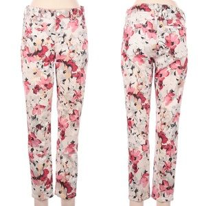 NYDJ lift & tuck Floral Ankle Pants